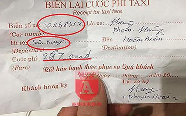"""Đi 2km, vị khách Nhật Bản bị lái xe taxi """"dù"""" thu phí đắt gấp hơn 10 lần!"""
