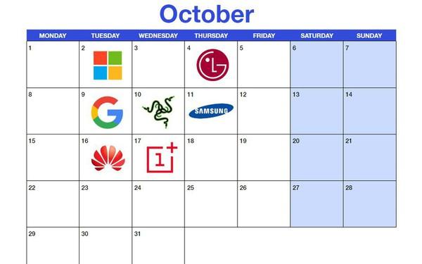 """""""Né"""" Apple, nhiều hãng ra smartphone mới vào tháng 10"""