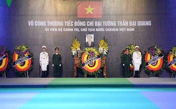 [TRỰC TIẾP] Xe tang đưa linh cữu Chủ tịch nước Trần Đại Quang về quê hương Ninh Bình