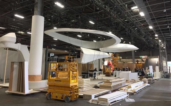 """Hé lộ gian hàng của VinFast tại triển lãm Paris: Quy mô """"không phải dạng vừa đâu"""", nằm kế gian hàng của hãng Ferrari và Kia"""