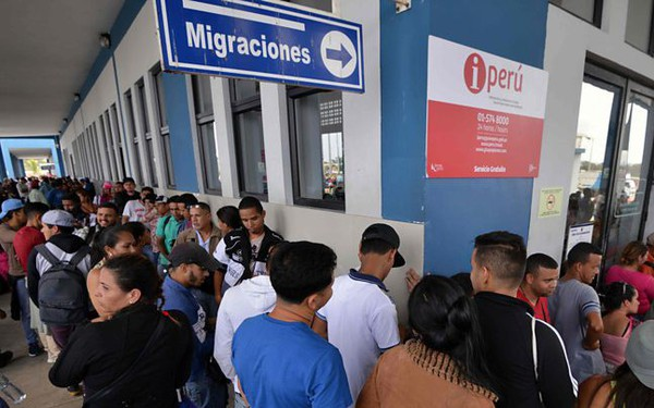 'Khủng hoàng di cư' tại Venezuela