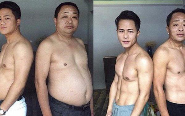 Từ bụng bia hóa cơ bắp, hành trình giảm cân 6 tháng của gia đình này khiến ai nấy đều ngưỡng mộ