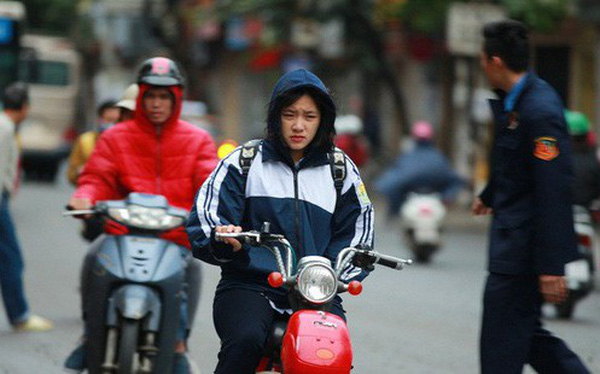 Nguy hiểm sức khoẻ rất có thể sẽ xảy ra khi bạn bước ra đường chiều tối nay khi nhiệt độ giảm đột ngột