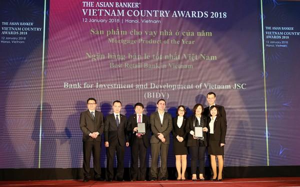 Liên tục là Ngân hàng bán lẻ tốt nhất, BIDV ghi dấu ấn Ngân hàng Việt trên trường quốc tế
