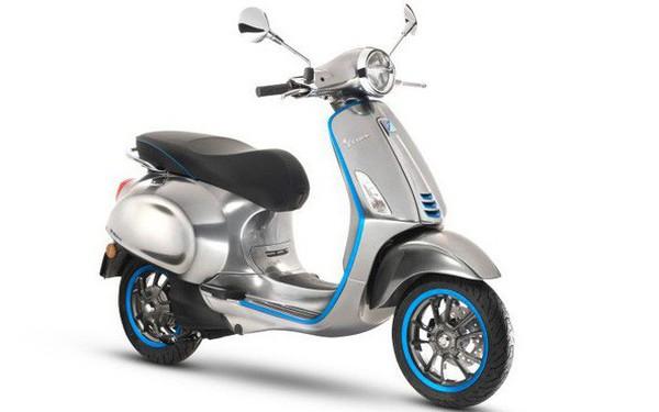 Vespa cũng có xe máy điện, giá từ 170 triệu, sẽ bán tại Việt Nam từ 2019?