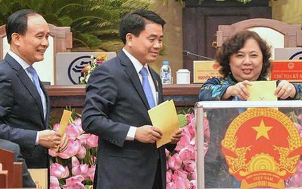 Hà Nội sẽ lấy phiếu tín nhiệm 37 chức danh chủ chốt