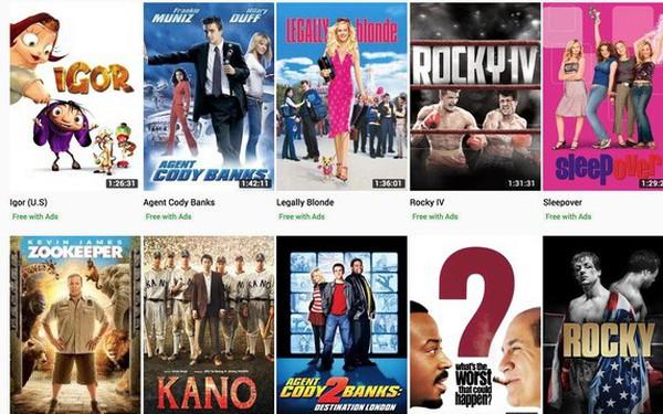 YouTube cho phép xem nhiều phim bom tấn Hollywood hoàn toàn miễn phí, nhưng chặn IP Việt Nam