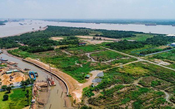 Toàn cảnh khu đất siêu dự án 6 tỷ USD Saigon Peninsula (Mũi Đèn Đỏ) đang được Bộ Xây dựng báo cáo Thủ tướng chấp thuận đầu tư