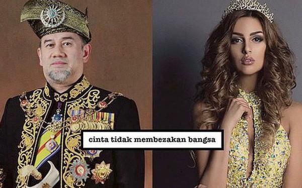 """Cựu hoa hậu Nga làm đám cưới với quốc vương Malaysia, chia sẻ rằng """"đàn ông không được kiếm ít tiền hơn phụ nữ"""""""