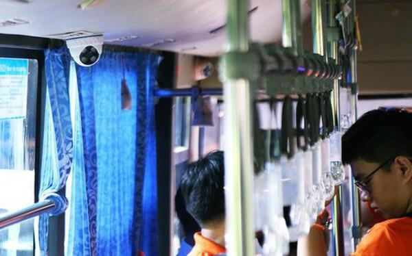 26 xe buýt ở Sài Gòn được lắp nhiều camera, loa cảnh báo để ngăn chặn quấy rối tình dục
