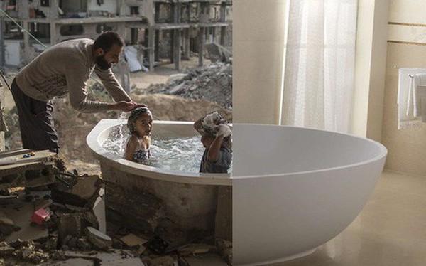 Rơi nước mắt với loạt ảnh cuộc sống tương phản của những vùng đất trên thế giới: Bên này bình yên, bên kia giông bão