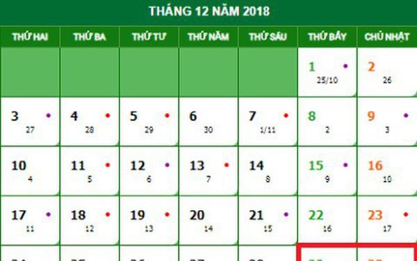 Lịch nghỉ Tết Dương lịch 2019 chính thức và cách tính lương ngày lễ, Tết