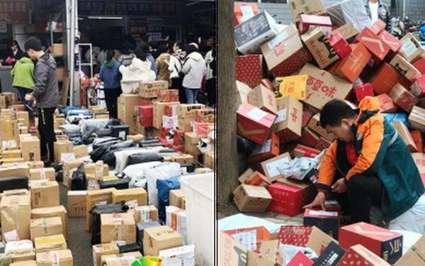 Chơi lớn như sinh viên Trung Quốc: Cả trường đua nhau mua đồ giảm giá, ship về chất đống, chẳng biết của ai mà nhận
