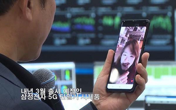 Cuộc gọi video 5G thương mại đầu tiên được thực hiện bằng smartphone Samsung