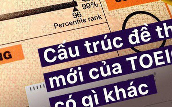 Infographic: Tất tần tật những điểm mới trong đề thi TOEIC được áp dụng tại Việt Nam từ 15/02/2019