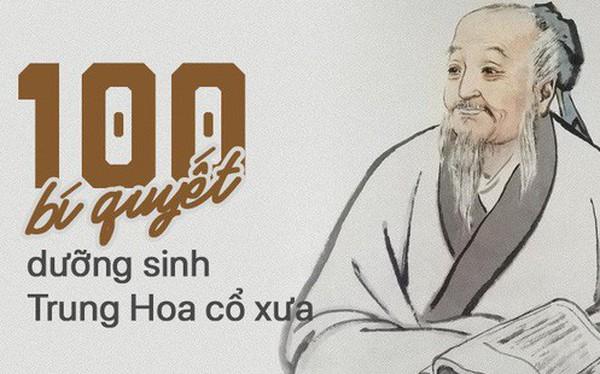 100 bí quyết dưỡng sinh của người Trung Hoa xưa: Sau hàng nghìn năm vẫn vô cùng hữu ích