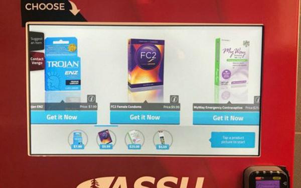Tâm lý như trường ĐH hàng đầu tại Mỹ: Lắp đặt máy bán thuốc tránh thai khẩn cấp, bao cao su cho sinh viên