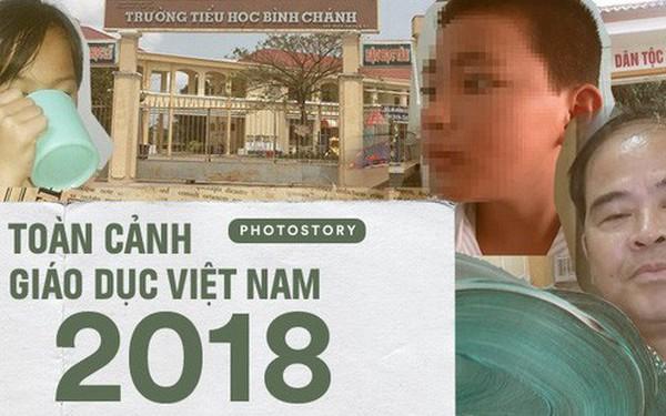 Giáo dục Việt Nam 2018: Chưa bao giờ xảy ra nhiều bê bối dâm ô, đánh đập học sinh như vậy!