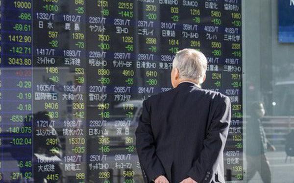 """Chứng khoán châu Á đã """"bốc hơi"""" 5,6 nghìn tỷ USD năm nay"""