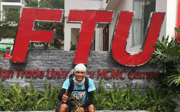 """Gặp chàng sinh viên ngoại thương đi bộ từ FTU Hà Nội đến FTU TP.HCM: """"Mình dùng hết 9 lọ dầu gió suốt hành trình 62 ngày"""""""