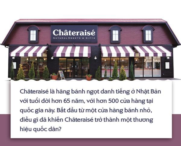 Câu chuyện thành công: Bí quyết làm nên sự trường tồn của thương hiệu bánh ngọt Châteraisé hàng đầu Nhật Bản