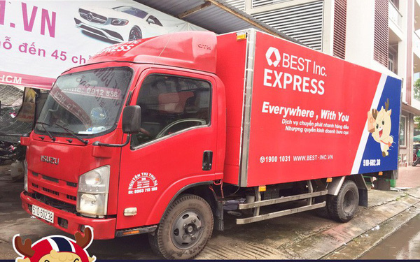 """Đại gia vận tải công nghệ Trung Quốc BEST """"nhảy"""" vào thị trường Việt Nam, cạnh tranh trực tiếp với Giao Hàng Nhanh, Viettel Post, VN Post…"""