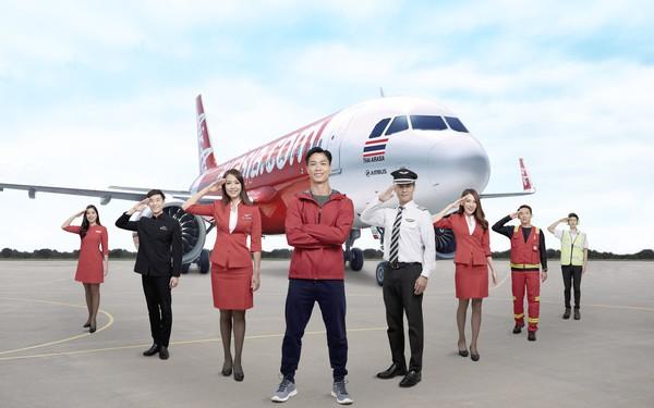 Hãng hàng không giá rẻ AirAsia chơi lớn, mời Công Phượng làm đại diện thương hiệu tại Việt Nam