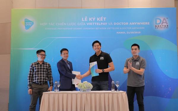 ViettelPay bắt tay với startup MedTech số 1 Singapore, cung ứng dịch vụ chăm sóc sức khỏe trực tuyến cho người Việt chỉ qua một chiếc smartphone