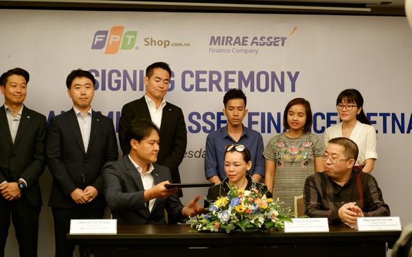 Hợp tác 3 bên Samsung – FPT Shop – Mirae Asset tạo ra mô hình trả góp đột phá: hoàn thiện hồ sơ trong 15 phút và không cần nhân viên bên cho vay