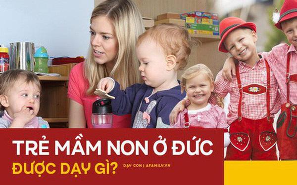 Không học chữ và số, trẻ em Đức được dạy gì ở trường mầm non? Câu trả lời khiến nhiều phụ huynh Việt sửng sốt