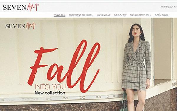 """Toàn bộ mặt hàng phụ kiện """"biến mất"""" trên website của Seven.AM"""