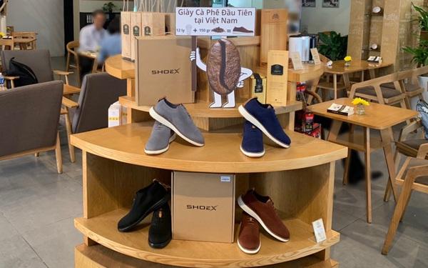 """Trung Nguyên hợp tác với startup do Shark Hưng """"đỡ đầu"""" để bán… giày: Sản phẩm làm từ ly nhựa tái chế, bã cà phê, và đặc biệt không thấm nước"""