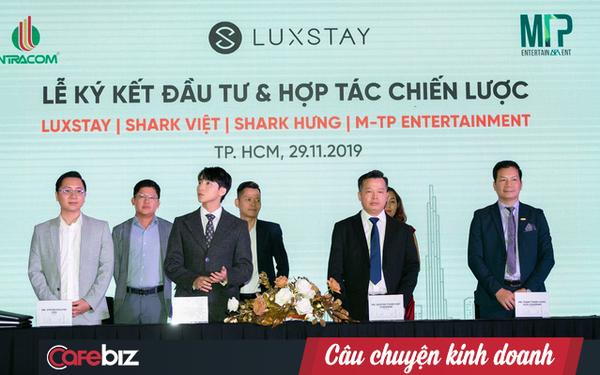 Sơn Tùng M-TP chính thức bắt tay hợp tác với Luxstay cùng hai shark Hưng và shark Việt: Vừa đầu tư tài chính, vừa quảng bá hình ảnh du lịch Việt Nam