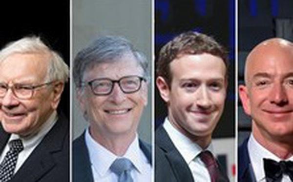Sự chuyển dịch dòng tiền đầu tư của top tỉ phú giàu nhất hành tinh
