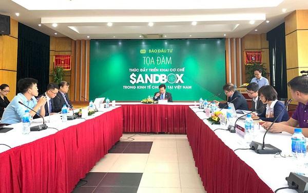 Chuyên gia đề xuất thành lập Tổ công tác của Chính phủ về Sandbox