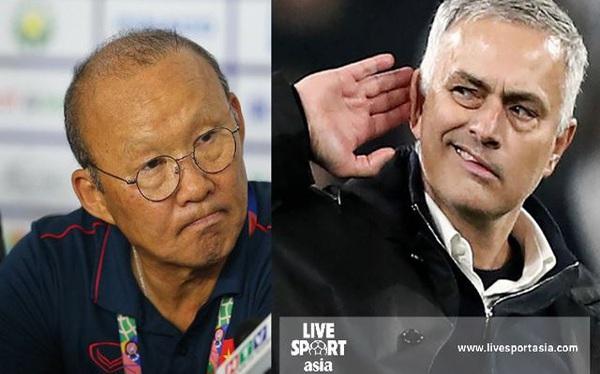 """Báo Singapore: Ông Park Hang Seo có tính cách rất giống """"người đặc biệt"""" Mourinho"""