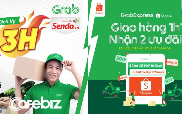 Vì sao ShopeeExpress giao hàng 4h, TikiNow giao 2h, còn Grab đi với Sendo thì giao 3h nhưng kết hợp Shopee lại có thể giao trong 1h?