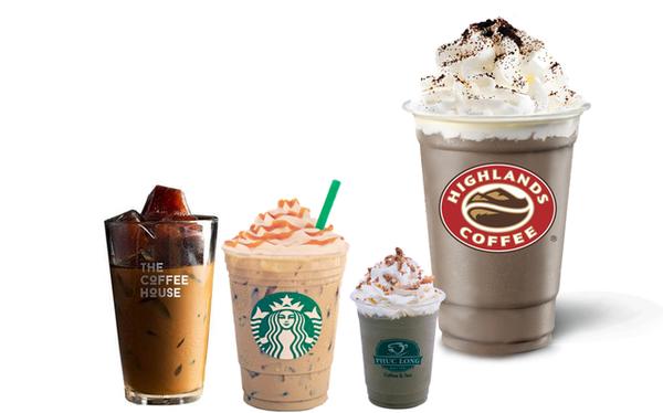 """Đại chiến chuỗi cà phê: Highlands Coffee bành trướng khủng khiếp đè bẹp các đối thủ, The Coffee Housse """"xốc lại"""" hệ thống, Trung Nguyên mở E-Coffee, Cộng tập trung xuất ngoại"""