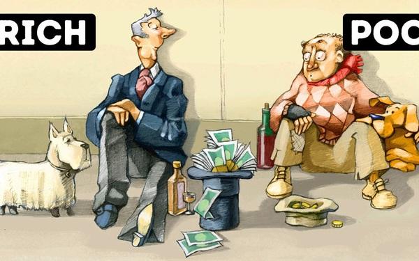 """Người càng có tiền càng """"keo kiệt"""" trong ba chuyện đại sự"""