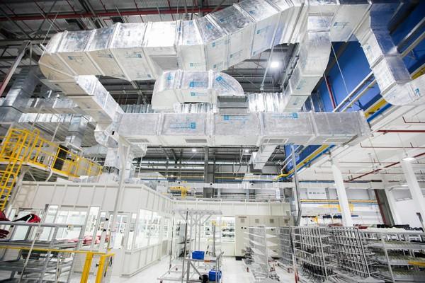 Giải pháp bảo toàn năng lượng bên trong dây chuyền tiên tiến của VinFast