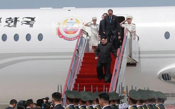 Chuyên cơ Chammae-1 chở ông Kim Jong-un đã bay thử tới Hà Nội?