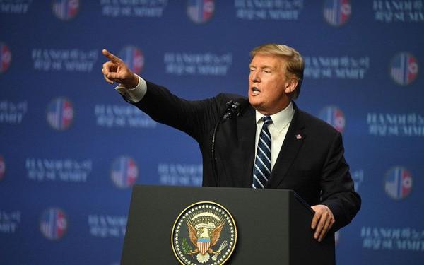 Kết quả hình ảnh cho TT Trump họp báo sau hội nghị thưởng đỉnh