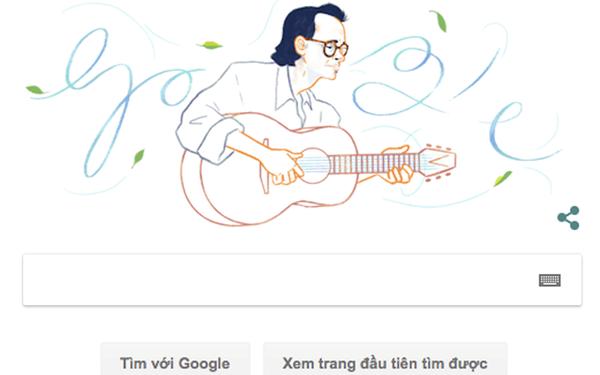 Trịnh Công Sơn - nhạc sĩ Việt đầu tiên được Google vinh danh