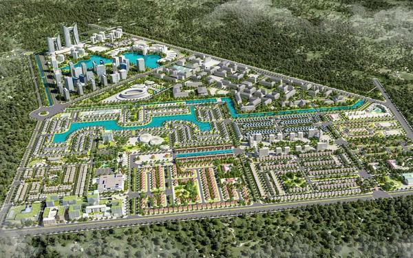 Dự án E.City Tân Đức: Sức hút từ khu đô thị hiện đại giáp ranh Tp.HCM
