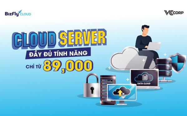 Shared hosting không phải giải pháp giá rẻ duy nhất vì đã có cloud server đầy đủ tính năng chỉ từ 89,000
