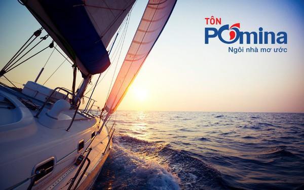 Chỉ sau hai tháng đi vào sản xuất, Tôn Pomina đã có lô hàng xuất khẩu đầu tiên, đặt chân vào thị trường quốc tế.