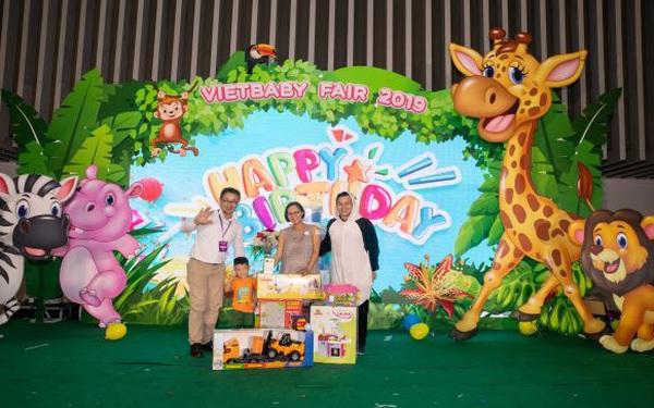 Triển lãm Vietbaby: Địa điểm vui chơi cho bé và không gian mua sắm cho mẹ