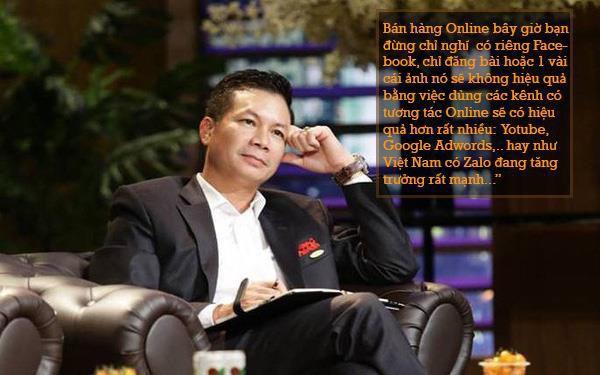 Câu nói của Shark Hưng khiến hàng ngàn bạn trẻ kinh doanh online suy ngẫm