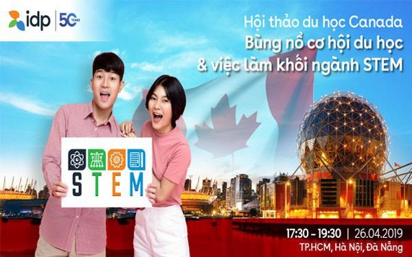 Du học Canada 2019 - bùng nổ nhu cầu việc làm của khối ngành STEM