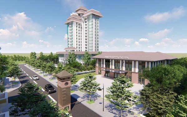 Vinaconex 3 xây dựng trung tâm thương mại lớn tại Phổ Yên - Thái Nguyên.